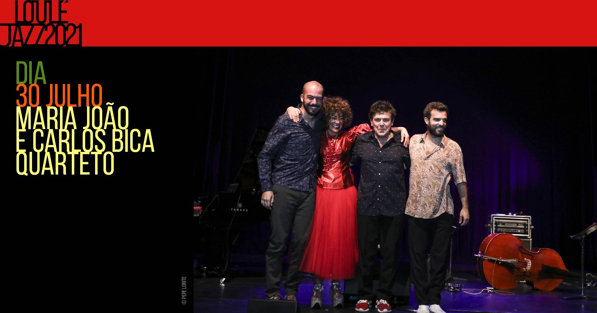 26º Loulé Jazz | Quarteto de Maria João e Carlos Bica