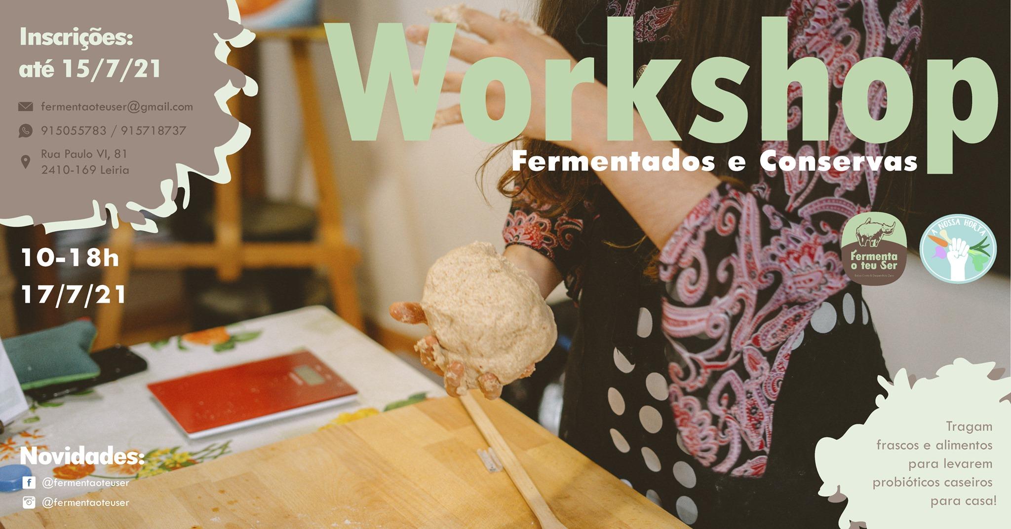 Workshop de Fermentados e Conservas