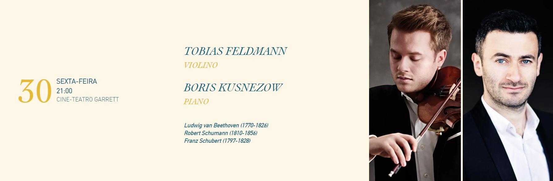 Festival da Povoa de Varzim   Tobias Feldmann e Boris Kusnezow