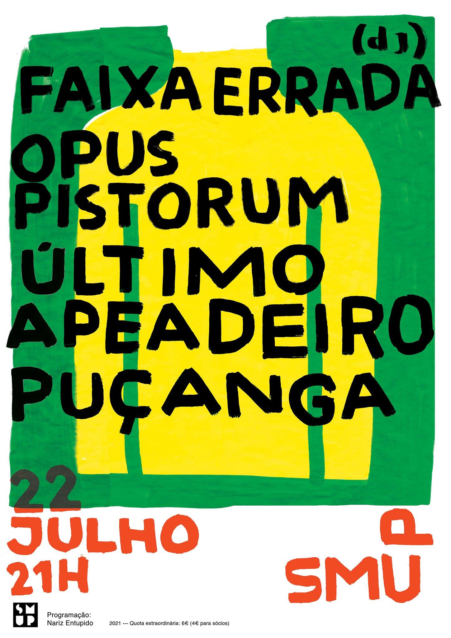 Puçanga   Opus Pistorum   Último  Apeadeiro   Faixa Errada (dj)