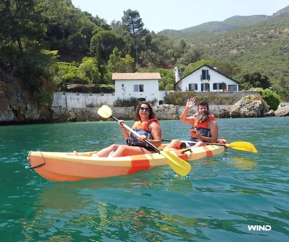 Canoagem e Snorkeling