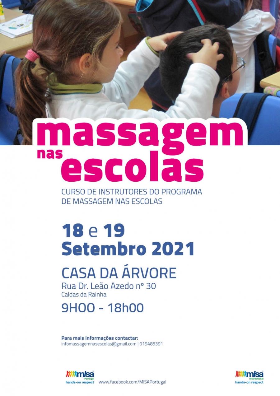 Massagem nas Escolas | Curso de Instrutores