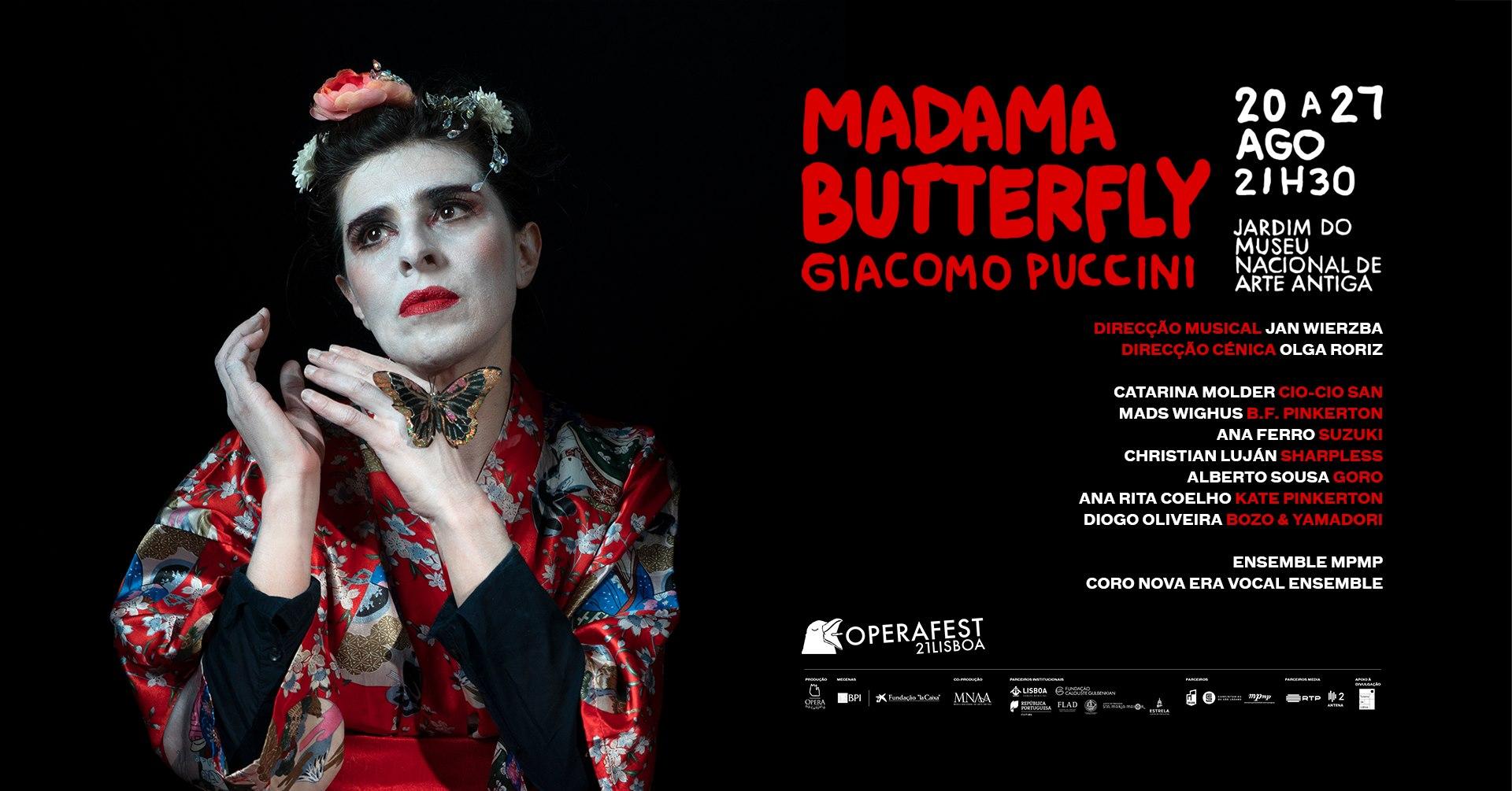 Madama Butterfly - OPERAFEST LISBOA 2021