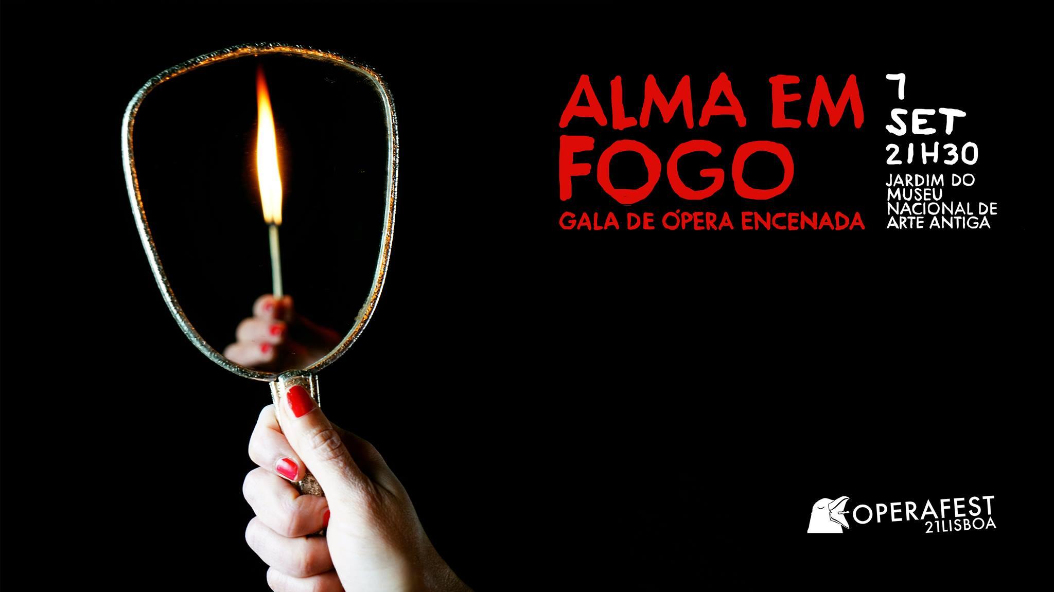 Gala de Ópera Encenada ALMA EM FOGO - OPERAFEST LISBOA 2021