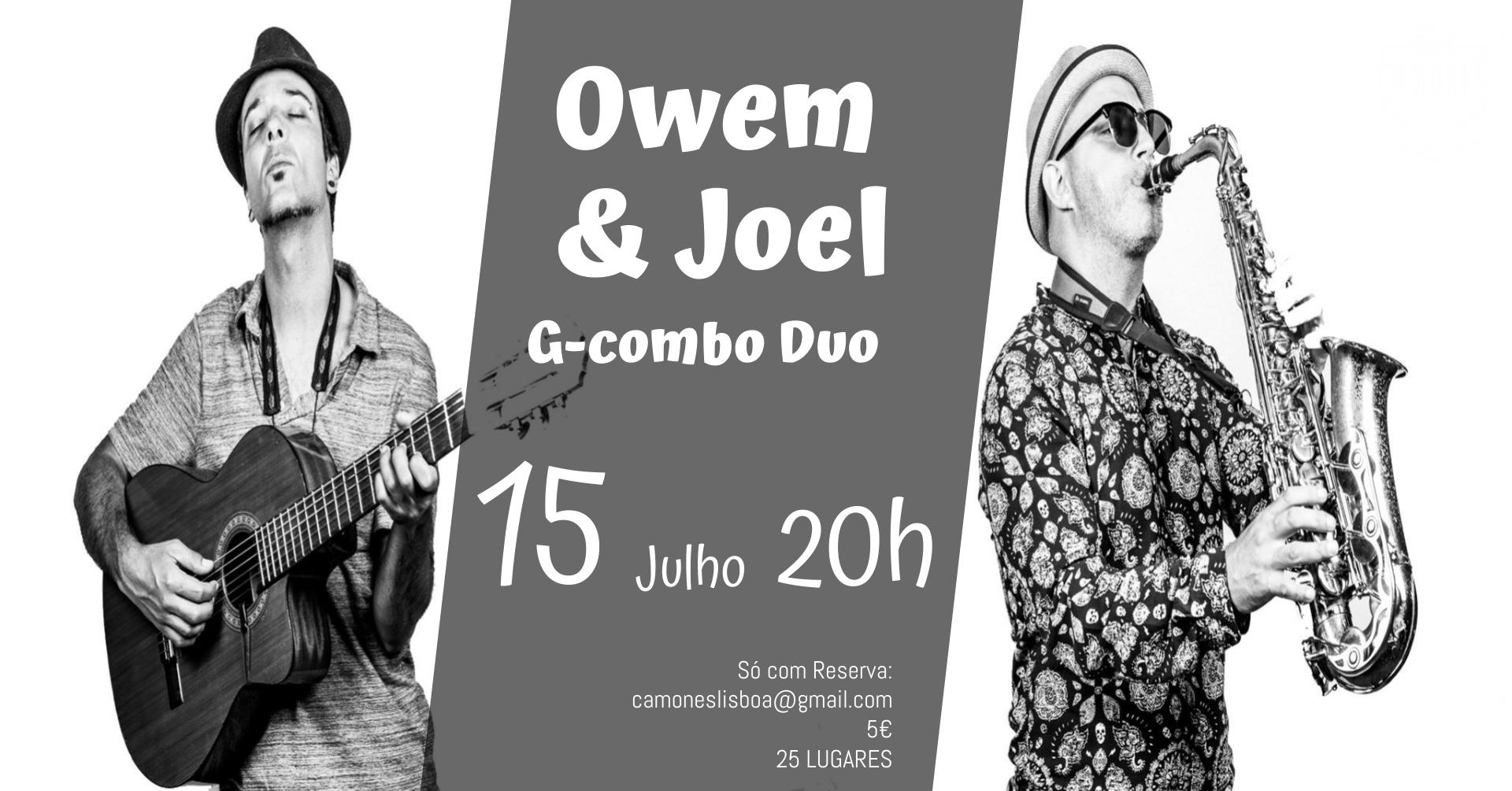 Owem e Joel - G-COMBO DUO