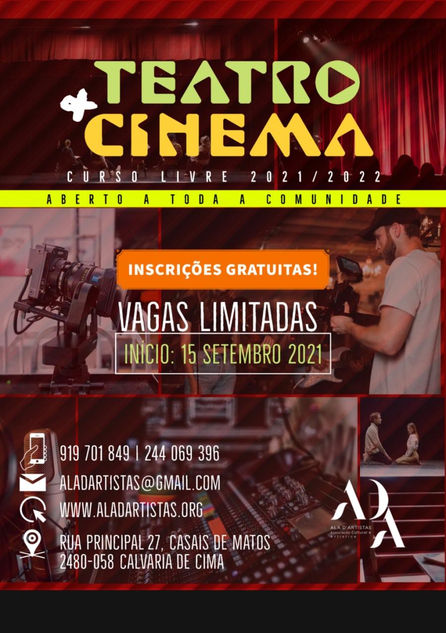 +Teatro +Cinema   Curso Livre 2021/2022