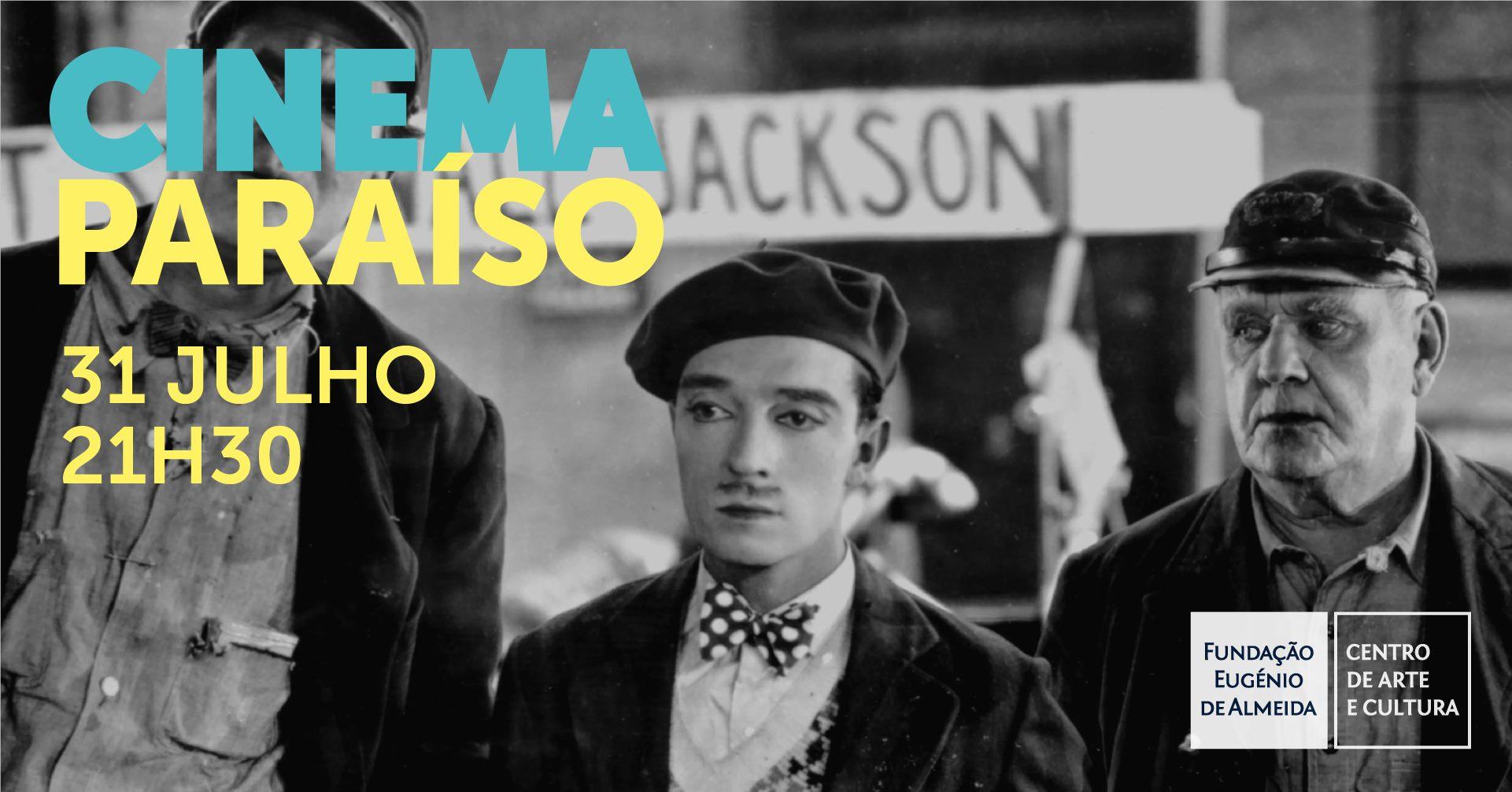 Filipe Raposo toca piano para Buster Keaton