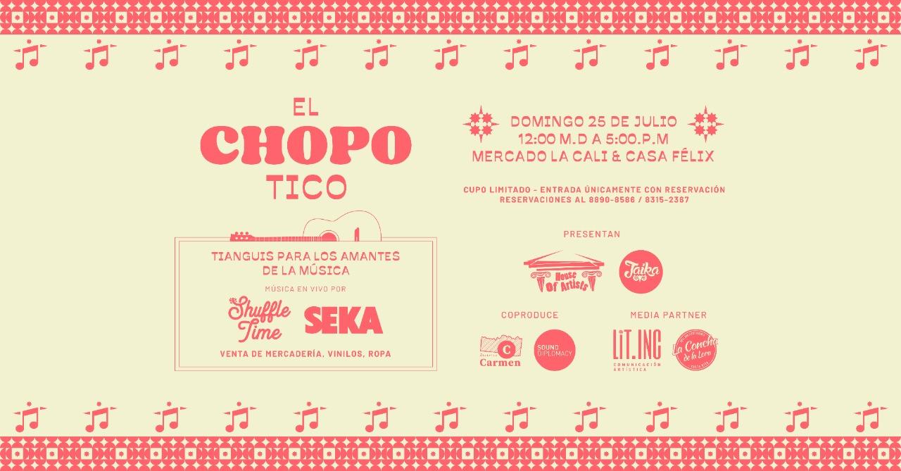 El Chopo-Tico (SEKA y Shuffle Time)