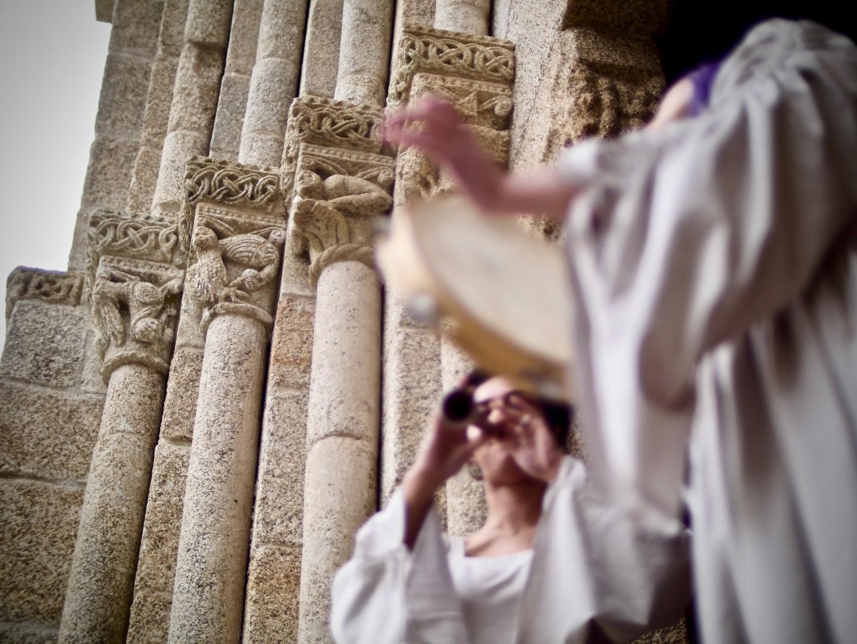 Origo na Igreja de São Martinho de Mouros