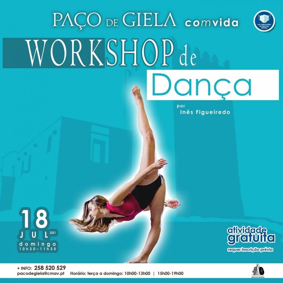 Workshop Dança Moderna