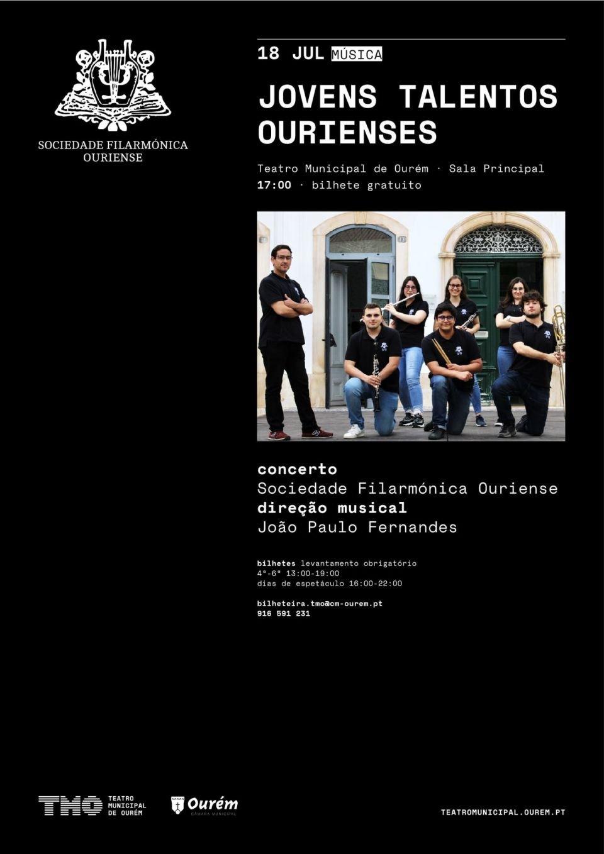 JOVENS TALENTOS OURIENSES - SOCIEDADE FILARMÓNICA OURIENSE