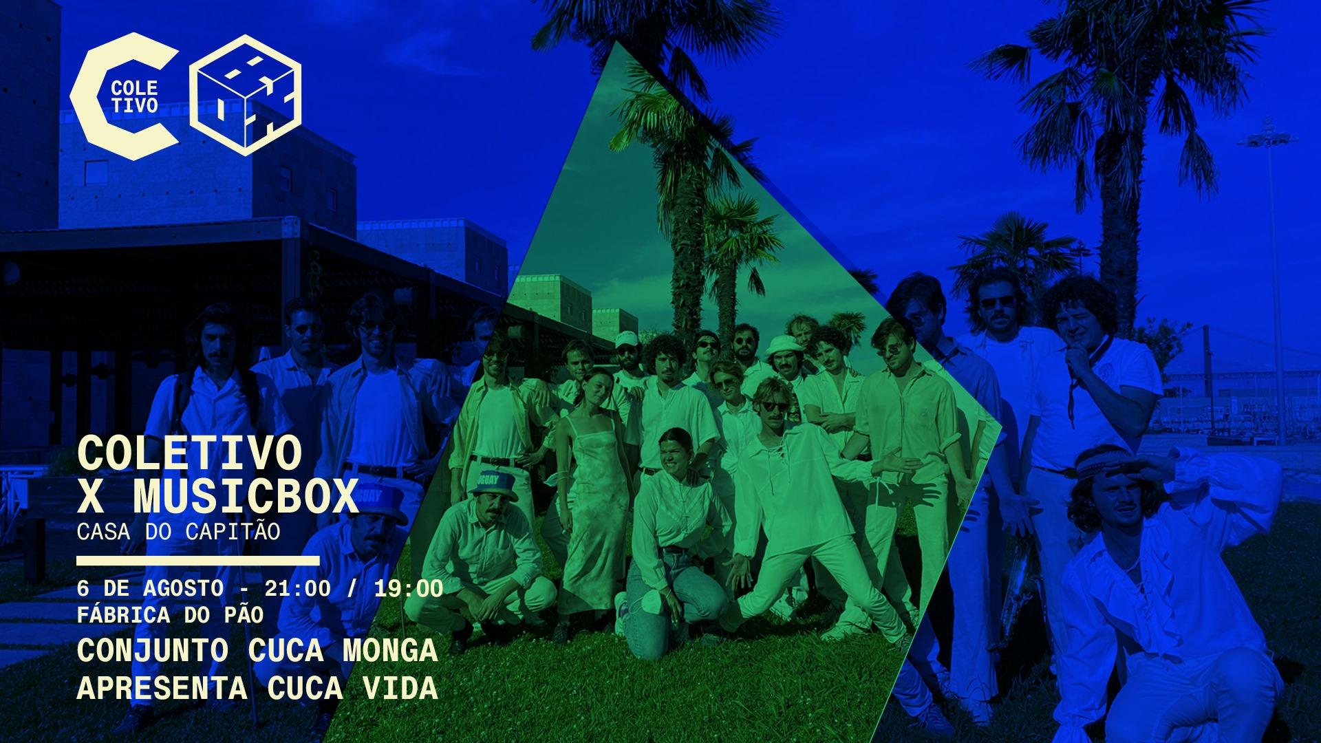 Conjunto Cuca Monga apresenta Cuca Vida • concerto na fábrica