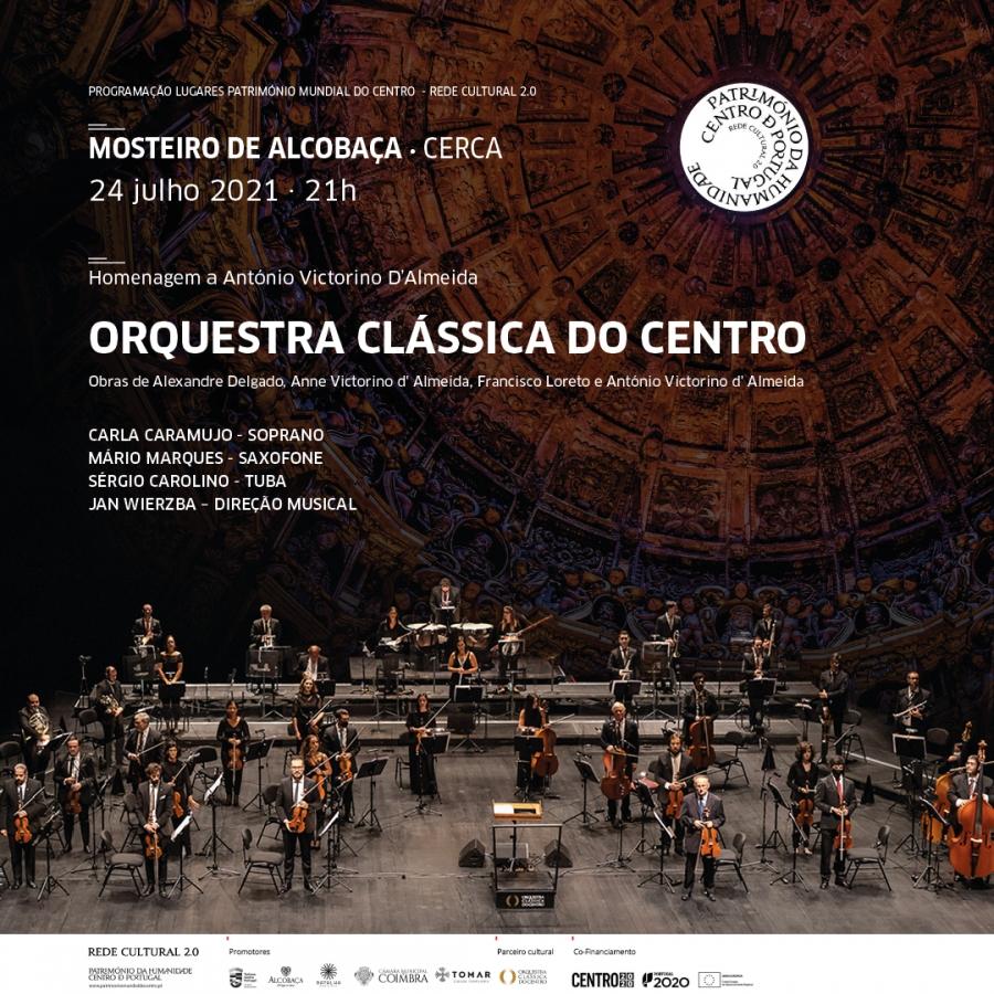 música :: Orquestra Clássica do Centro | Homenagem a António Victorino D'Almeida