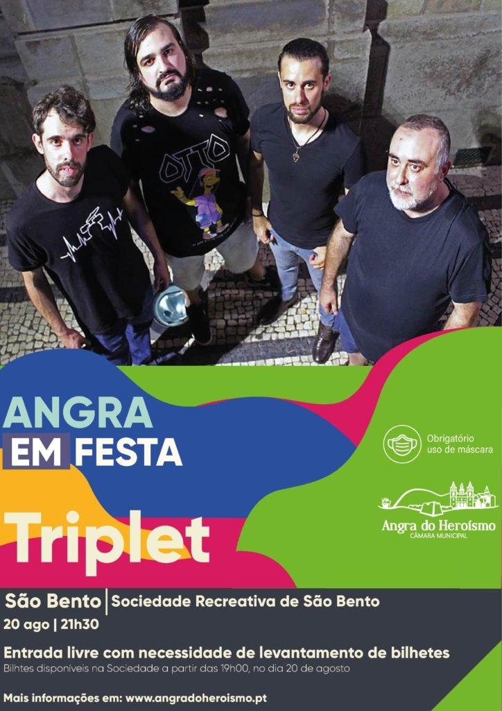 Angra em Festa -TRIPLET