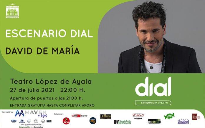 Escenario DIAL con David DeMaría