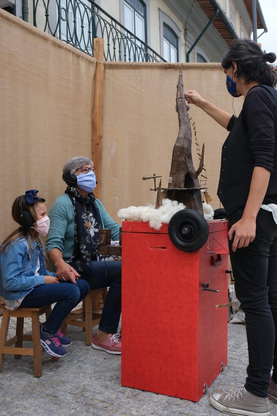 Onirotóptero - Oficina de construção de marionetas