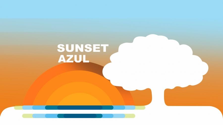 Sunset Azul
