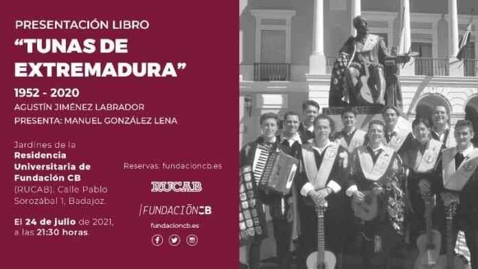 """Presentación """"Tunas de Extremadura"""" en la RUCAB"""