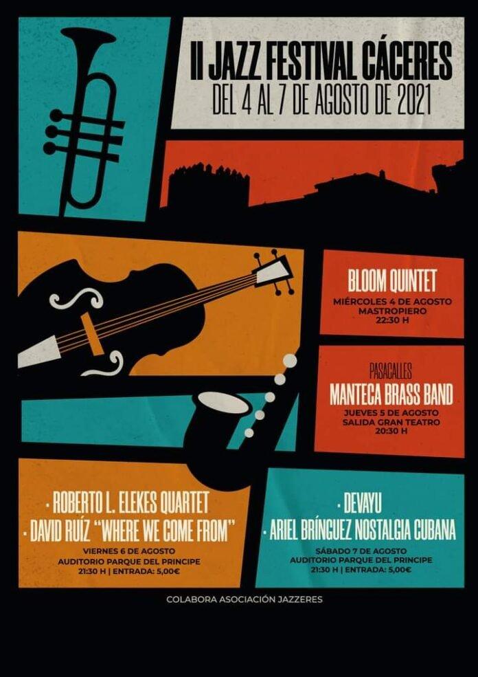 Bloom Quintet en II Jazz Festival Cáceres