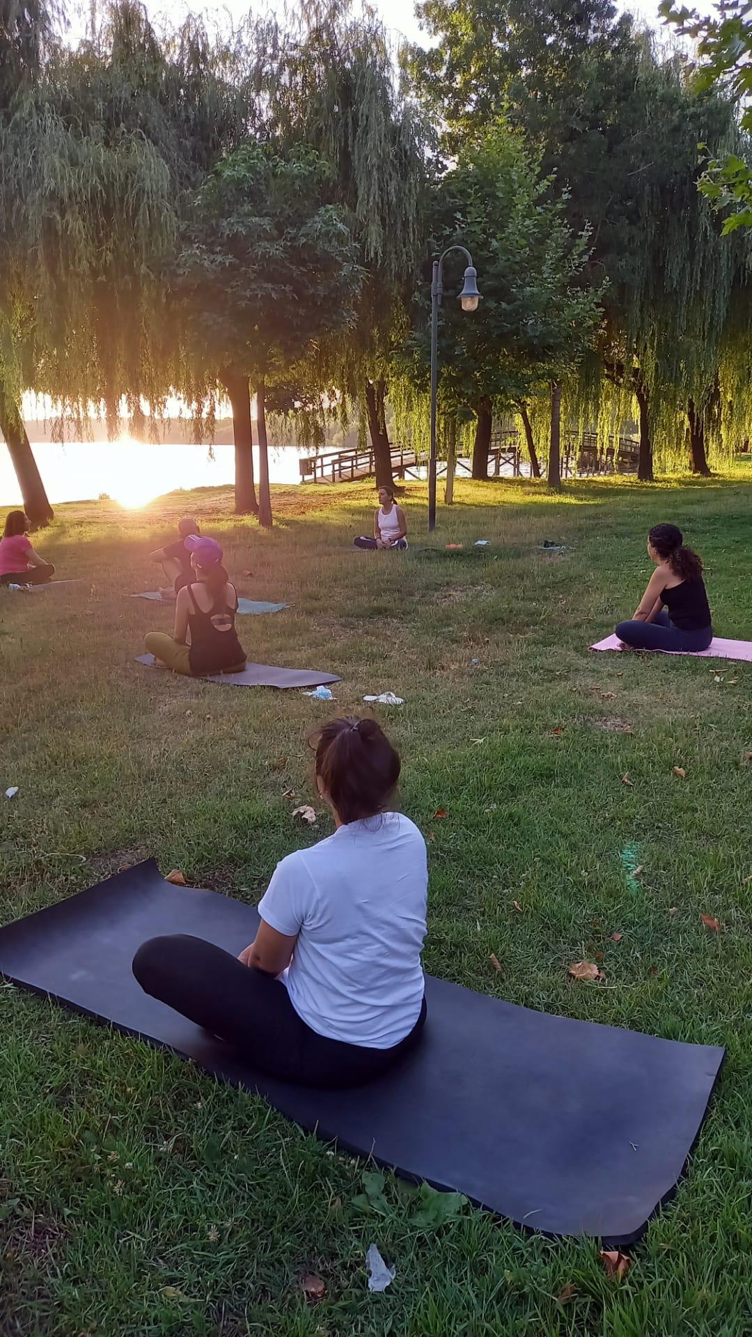 Aula Yoga na Pateira