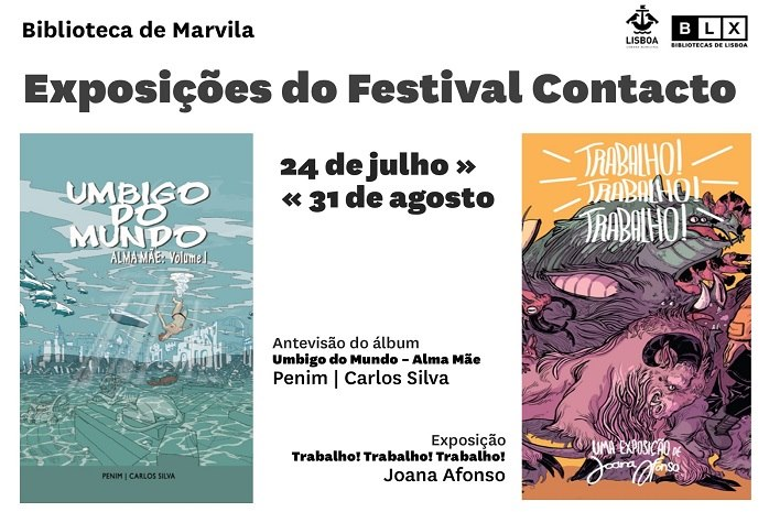 Exposições do Festival Literário de Ficção Científica e Fantasia Contacto