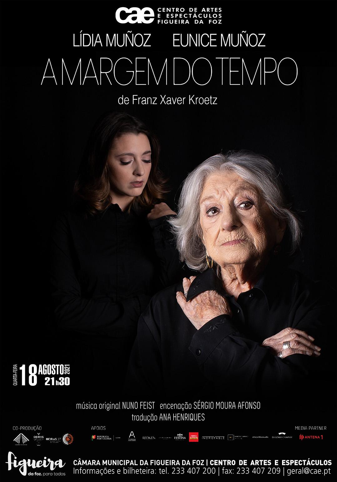 A Margem do Tempo, com Eunice Muñoz - CANCELADO