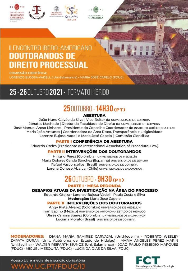 II Encontro Ibero-Americano de Doutorandos de Direito Processual