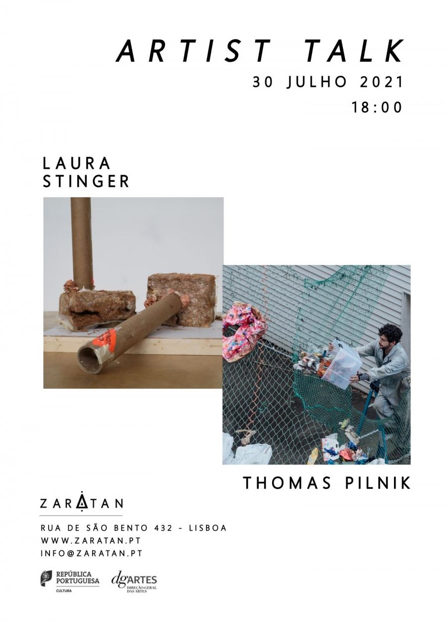 Artist Talk   LAURA STINGER & THOMAS PILNIK