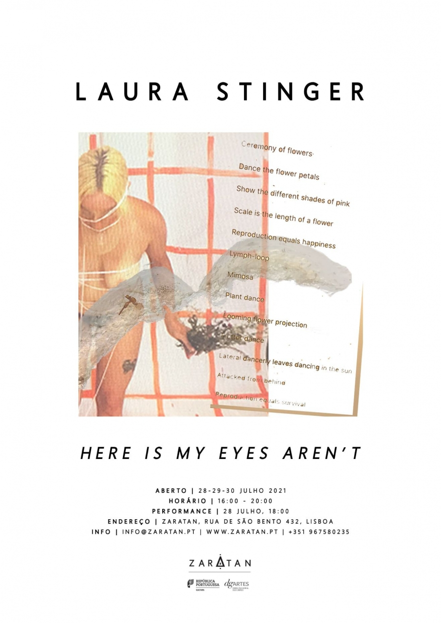 LAURA STINGER | 'Here is my eyes aren't'