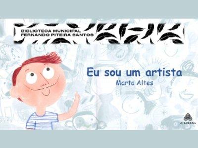 Hora do Conto   Eu sou um artista, de Marta Altés
