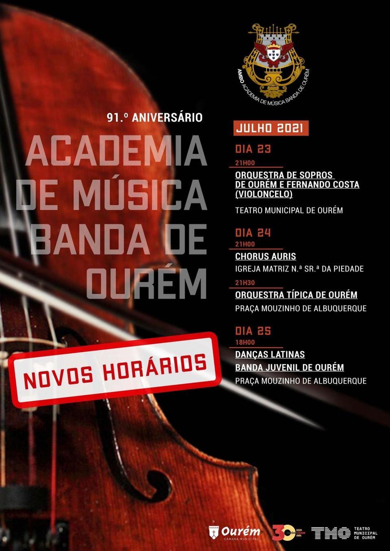 CHORUS AURIS - ACADEMIA DE MÚSICA BANDA DE OURÉM