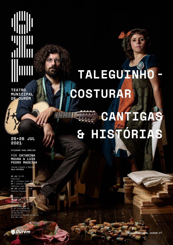 """""""Taleguinho"""" - Costurar Cantigas e Histórias, por Catarina Moura e Luís…"""