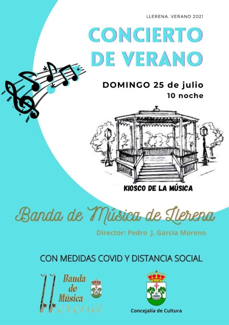 Concierto de verano de la Banda de Música
