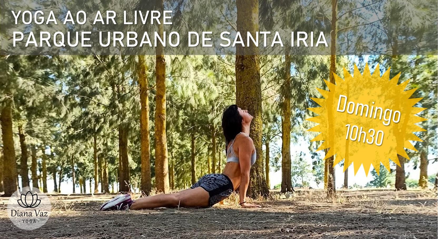 Yoga ao Ar Livre no Parque Urbano de Santa Iria
