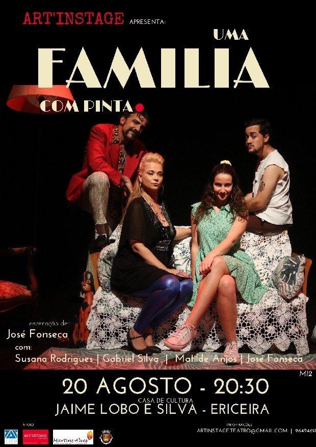 Espetáculo 'Uma Família com Pinta'