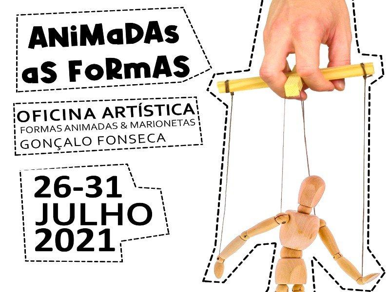 Oficina Artística 'Formas Animadas & Marionetas'