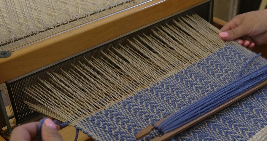 Exposição de tecelagem 'Entre Linhas'