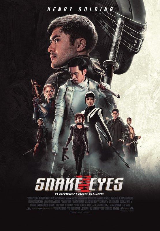 Exibição do filme 'Snake Eyes: a origem dos G.I.Joe
