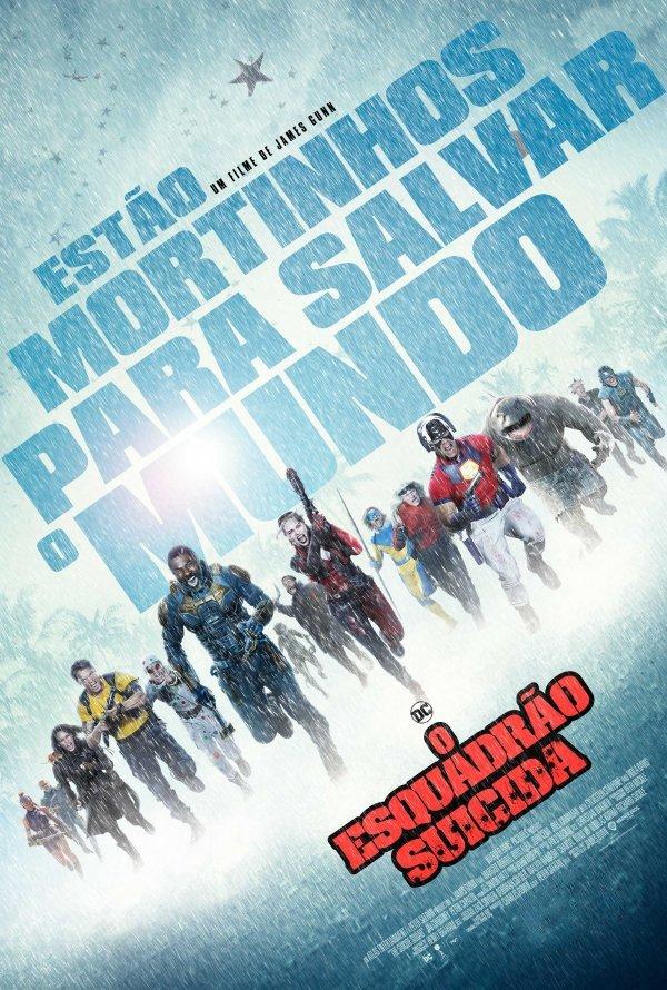 Exibição do filme ' O Esquadrão Suicida'