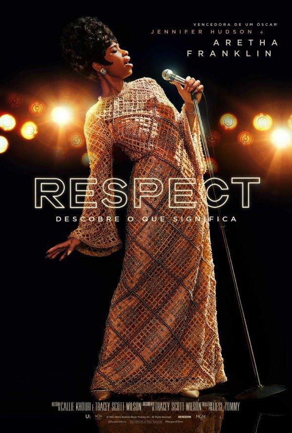 Exibição do filme ' Respect'