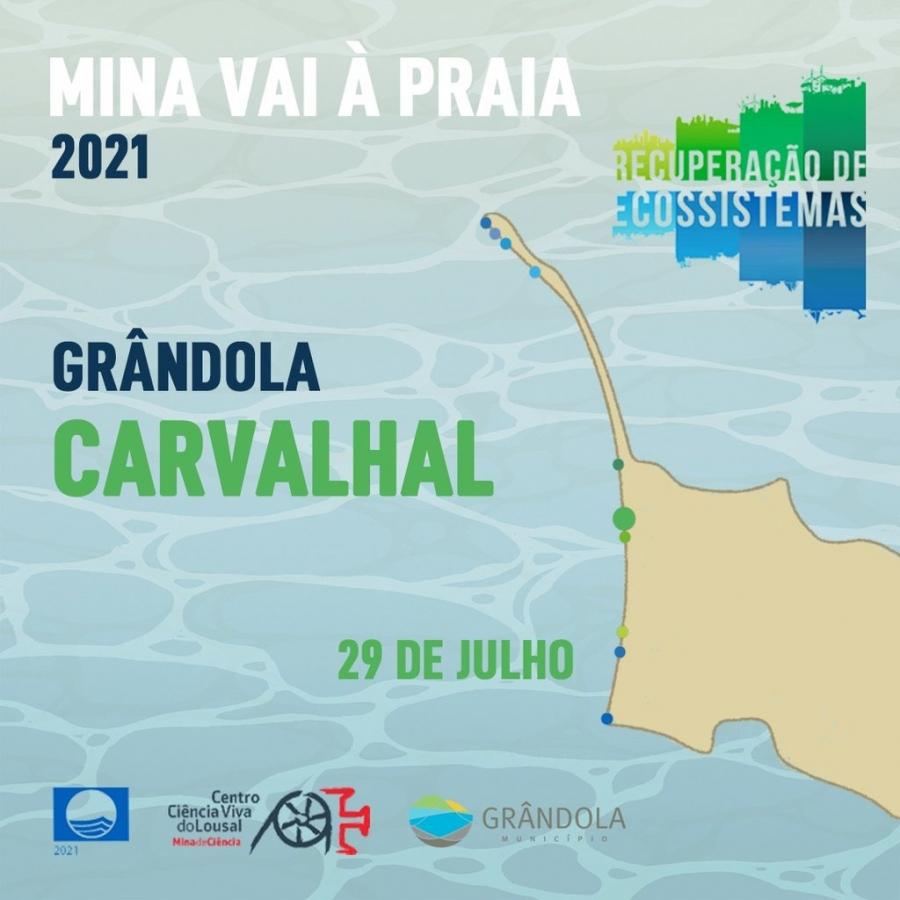 Mina vai à praia   Carvalhal   29 julho  