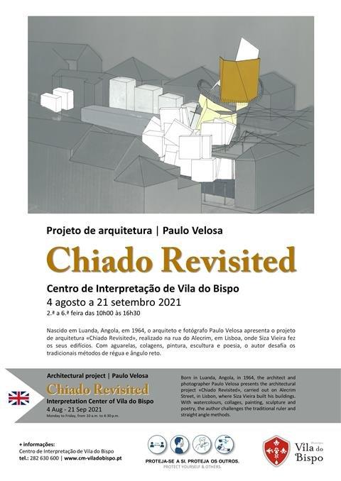 """Exposição """"Chiado Revisited"""" de Paulo Velosa."""