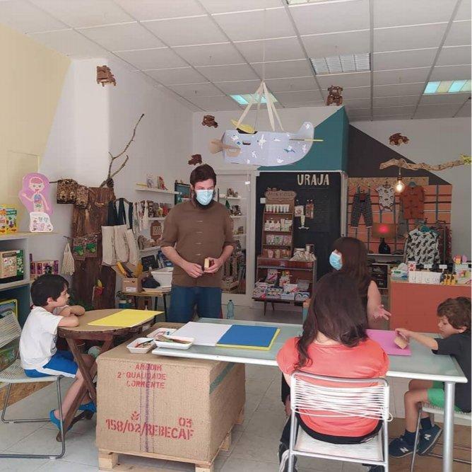 Workshop de carimbos artesanais