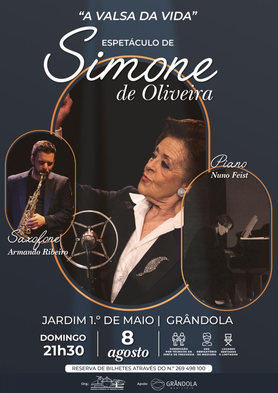 A Valsa da Vida | Espetáculo de Simone de Oliveira