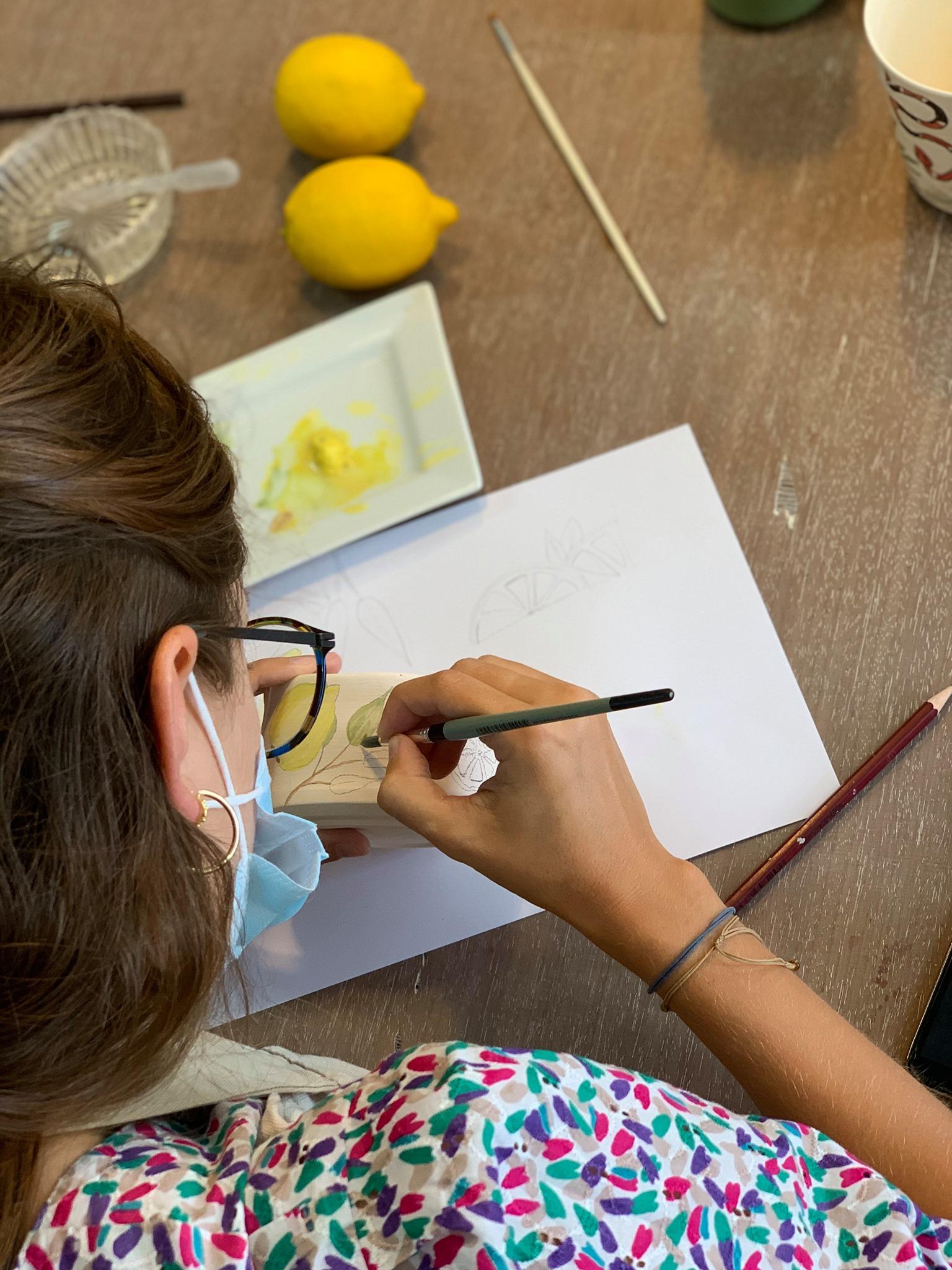 Art and Wine   Pintura em Cerâmica