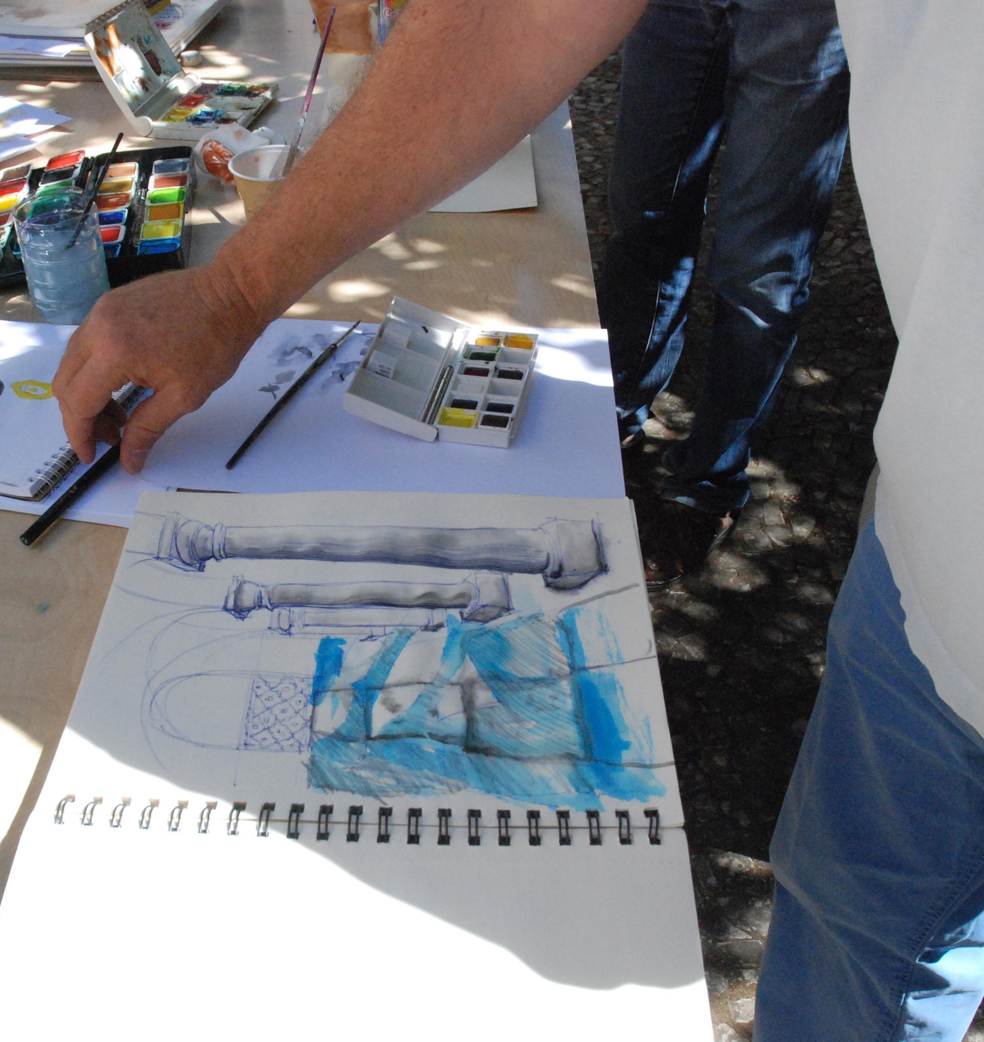 Desenhar no Convento   Workshop de desenho