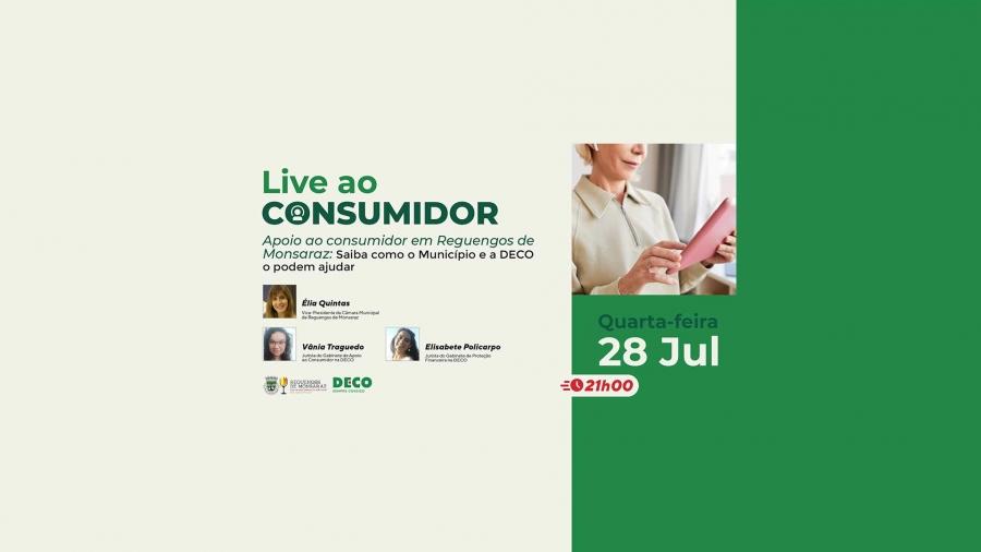 DECO: Live ao consumidor