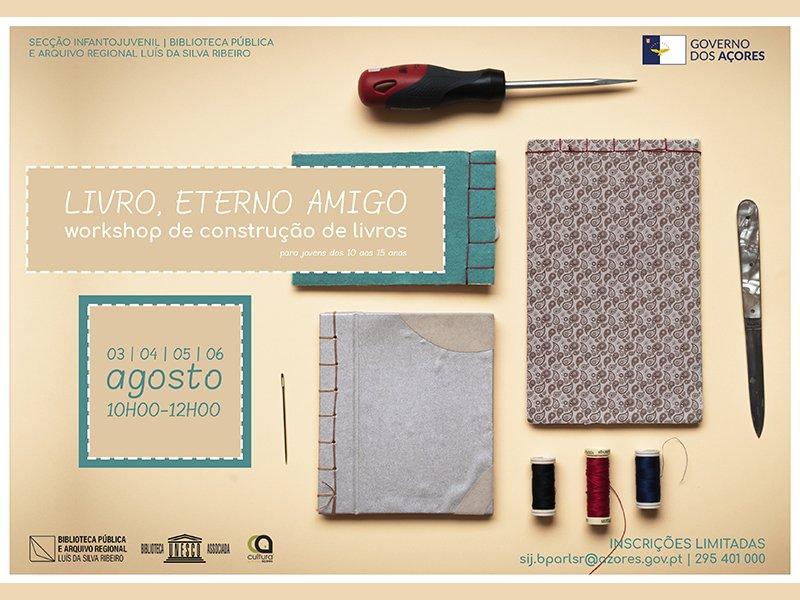 """Workshop """"Livro, Eterno Amigo"""""""