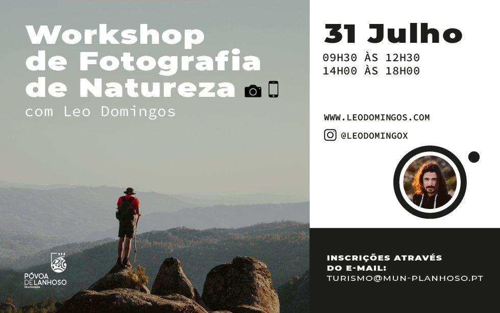 Workshop de Fotografia de Natureza