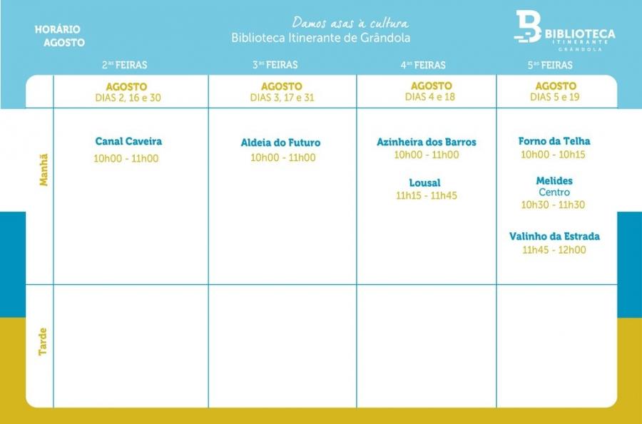 Biblioteca Itinerante - AGO'21